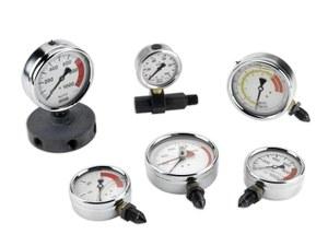 AV — AT — AY Pressure gauges